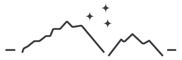 Mountain Logo Strippped